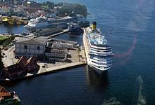 Берген, море, корабли