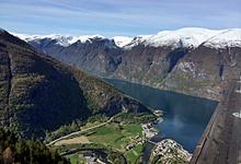 Горы, водопады, фьорды